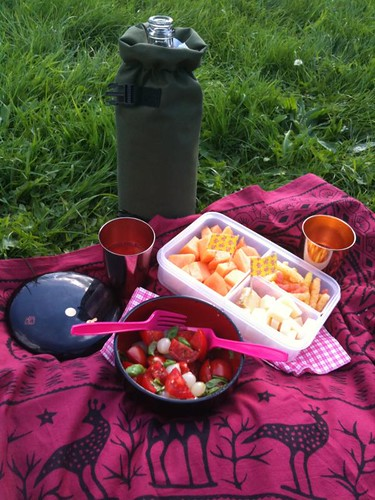 Last Day of Summer Holiday Bento #115