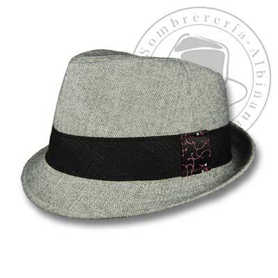 Sombrero Borsalino o Estilo Borsalino  b1d0374b6b5