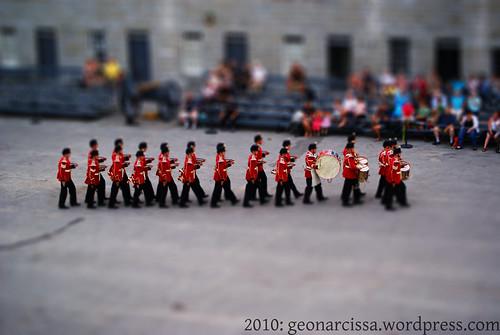 Fort Henry Guard - Fake Tilt Shift