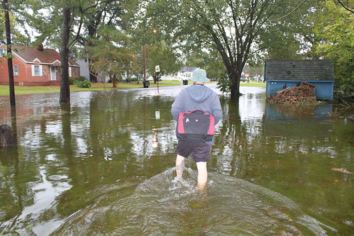Elizabeth City - Flood - Ryan Heads to Work