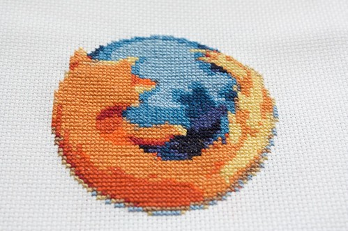 firefox cross stitch