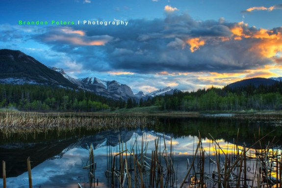 Middle Lake, Bow Valley Campground