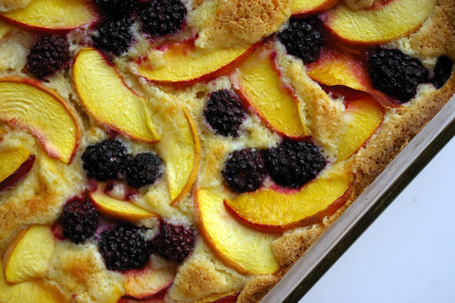 Fruit Cobbler Cake