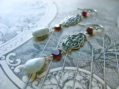 Tudor earrings
