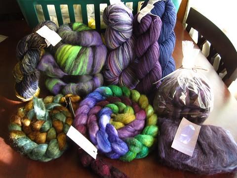 SAFF 2010 - dyed haul