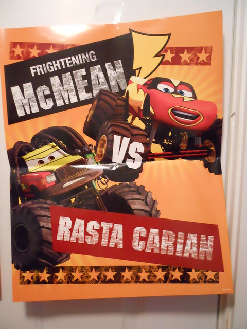 DISNEY CARS KMART COLLECTOR DAY 5 POSTERS (2)