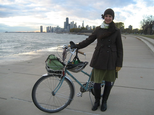 Cycling Chicago in November