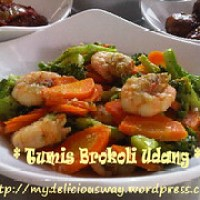 Tumis Brokoli Udang