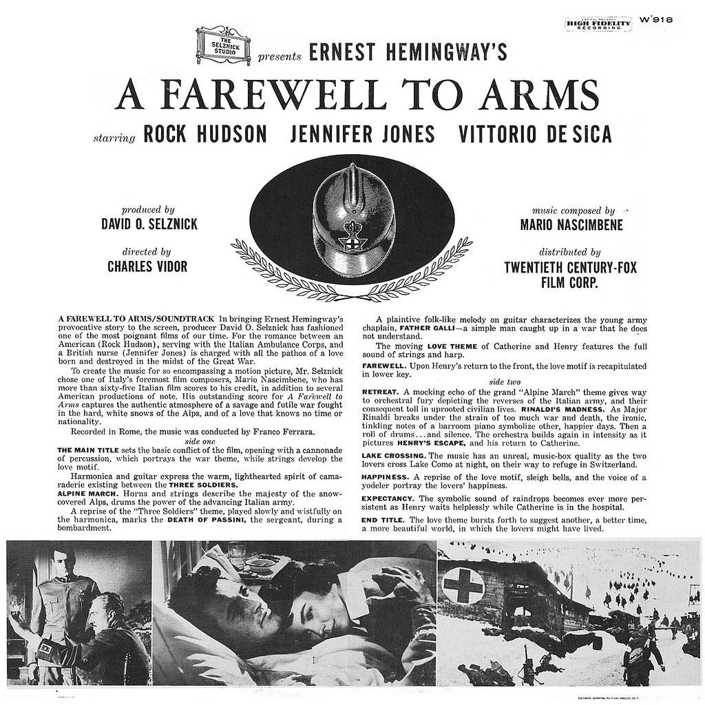 Mario Nascimbene - A Farewell to Arms