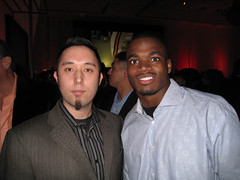 Tom Edwards with Adrian Peterson - 640