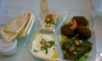 Mezza plate from A Taste of Greek