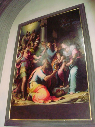 Adorazione dei Magi (Girolamo Macchietti) 1