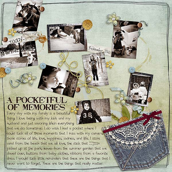 Pocketful of Memories