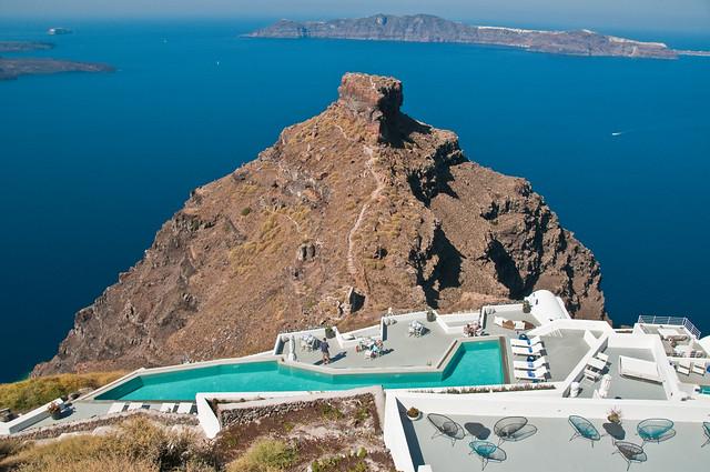 The Skaros, Santorini