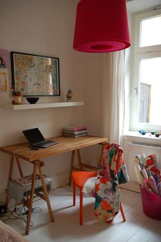 Improvised work area