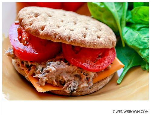 OWEN'S TUNAFISH SANDWICH