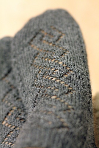 Lace and Cable Socks