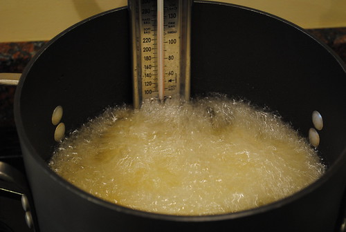 French fries blanching