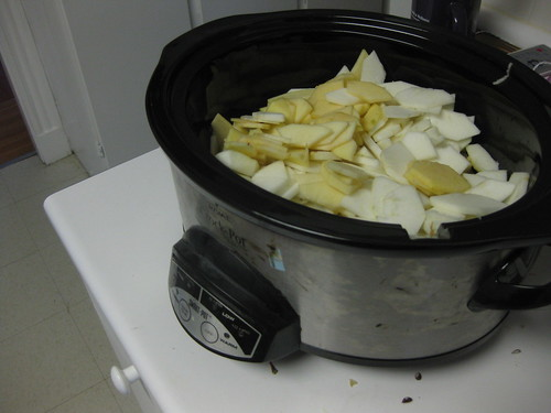 Before: Crockpot Apple Butter