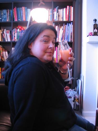 lisa and a guava mimosa