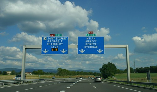 En route vers Genève et Milan