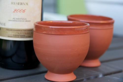 Clay Wine Glasses