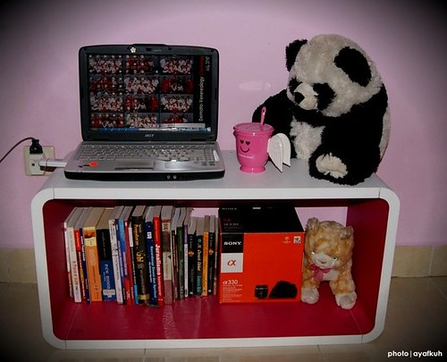 my laptop ^^