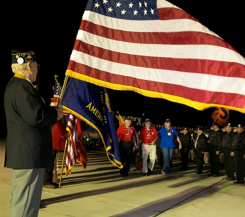 Color Guard Welcome Home
