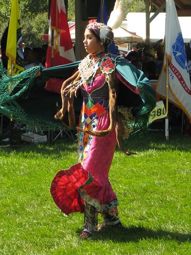 Potawatomi dancers