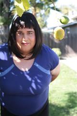 Backyard Lawn and Lemons On The Way