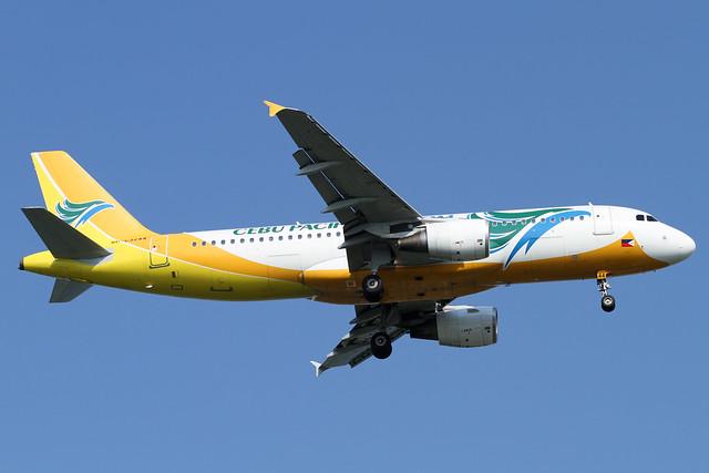 Cebu Pacific Air A320-200(RP-C3244)