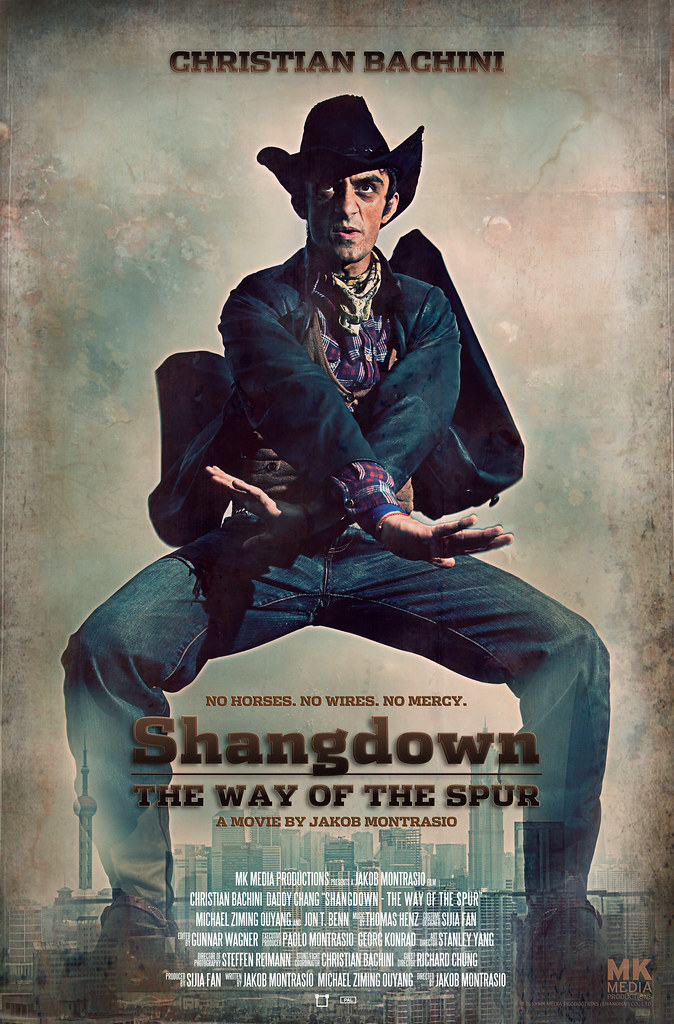 SHANGDOWN: THE WAY OF THE SPUR - Main Poster