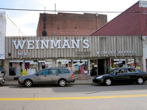 Weinman's Store Dunmore Pa