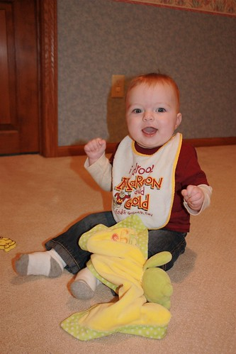 Charlie in his Gopher Gear