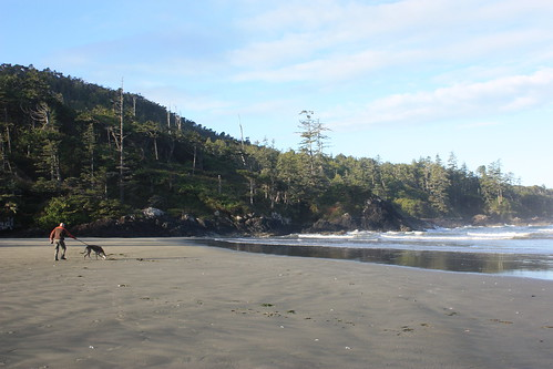 morning walk on Cox Bay