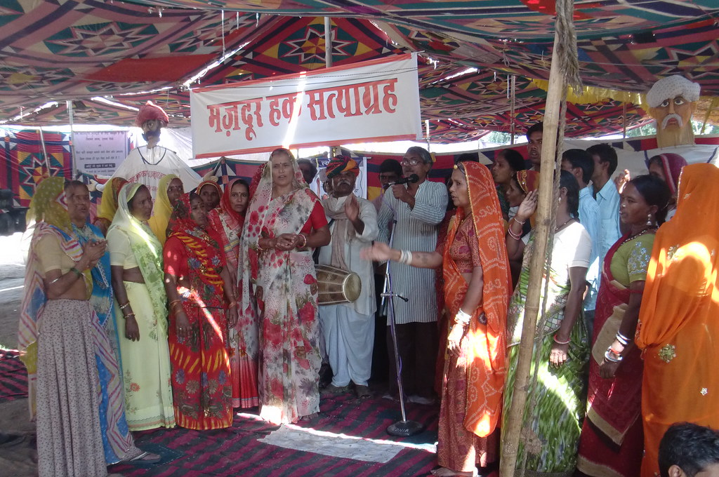 Pics from the satyagraha - 8 Oct 2010 - 3