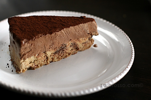 Classic Chocolate Mousse and Espresso Coffee Chocolate Chip Mousse Cake Recipe