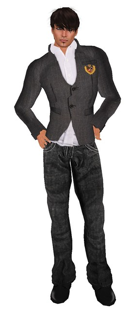 Fashion & Decor Affair  #10 (BalAni) Casual Blazer and Black Jeans (2)
