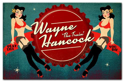 Wayne Hancock Retail Poster
