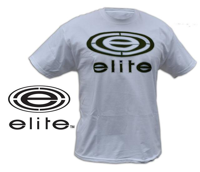 white elite black logo t shirt copy