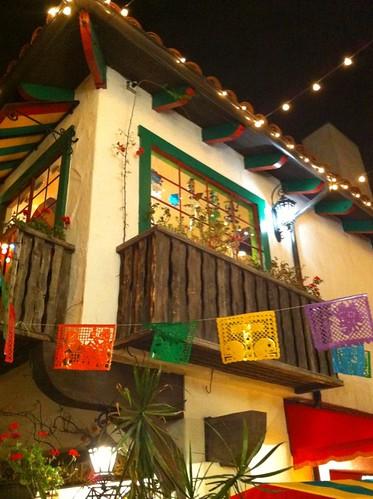 Bazaar balcony