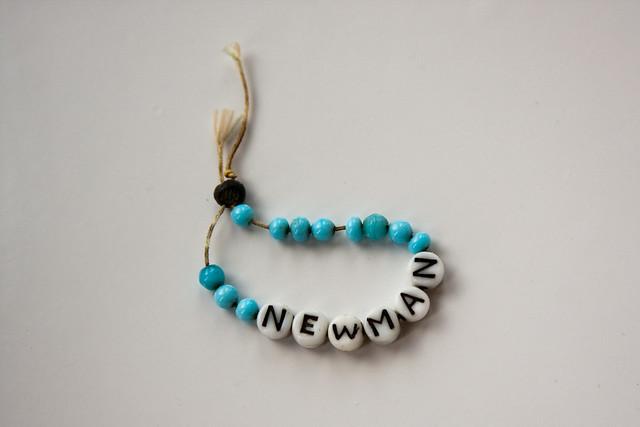{318/365} newborn hospital bracelet