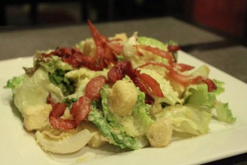 Caesar Salad at Goodfellas Steaks and Burgers