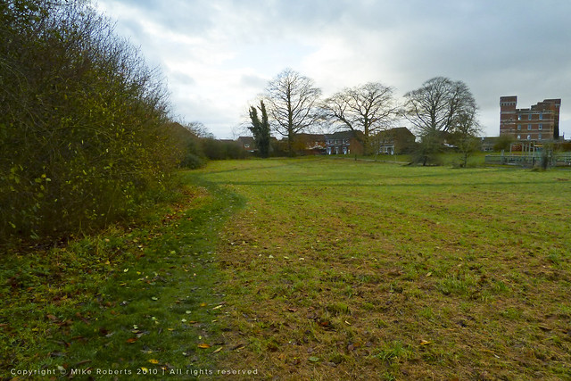 The old cricket pitch