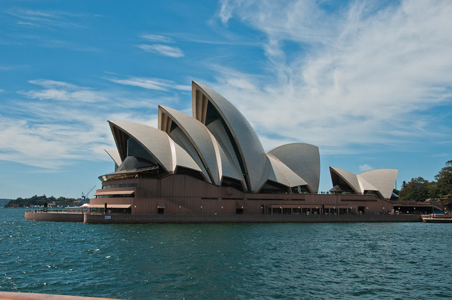 Sydney Opera House from the Manly Ferry