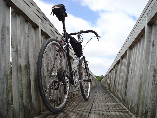 Cross-Check on Footbridge