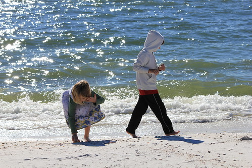 Mexico Beach, FL  1/2011  kids