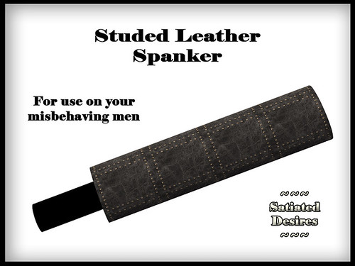 Studded Leather Spanker