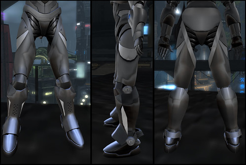 Male Warrior AV - legs