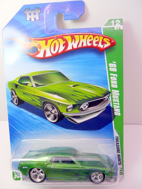 hw 2010 treasure hunt super and regular '69 ford mustang (4)